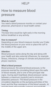 How to measure your blood pressure