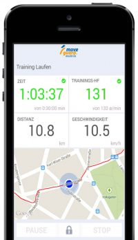 Optimales Training mit der moveguard Trainingsapp