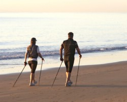 Start Nordic walking with moveguard